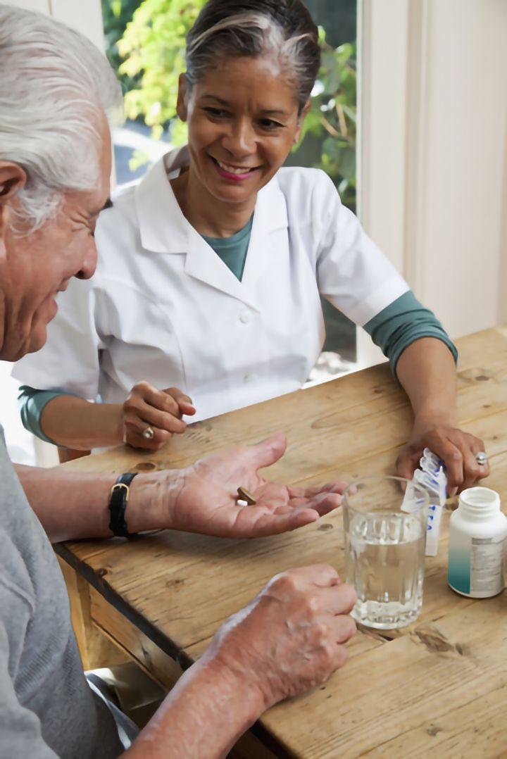 Aide à la prise de médicament